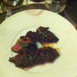 16. Beef Bar Dinner Trio of Steaks _Striploin Cube Roll Flat Iron